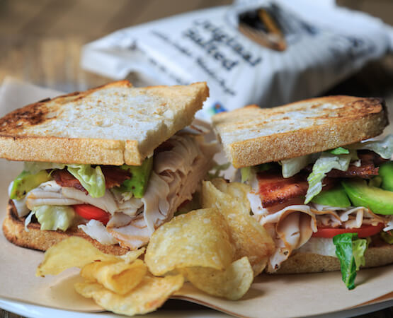 Hand crafted sandwiches from the deli of our Holderness, NH shop
