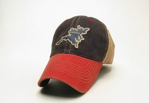 red bill addicted trucker hat